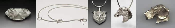 Fine Art Luxury Jewelry in Sterling Silver and Gold created by Joy Beckner