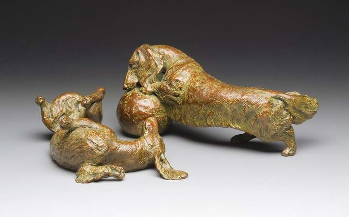 Life is Good 1:6 Scale Long Dachshund Bronze Sculpture by Joy Beckner