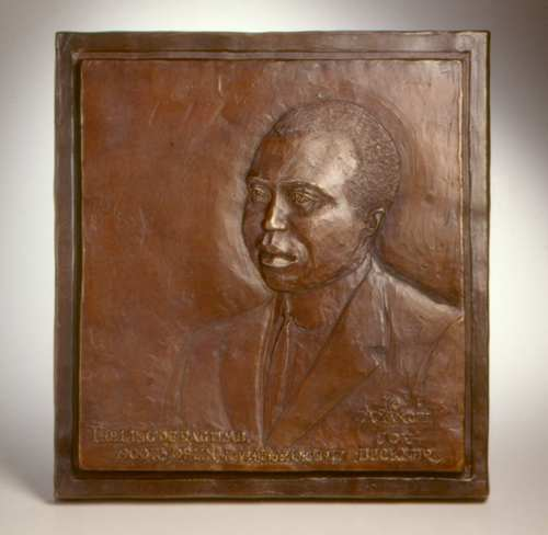 Scott Joplin Human Bronze Sculpture by Joy Beckner